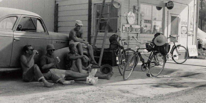 BikerideJackHerbDickBigRod1957